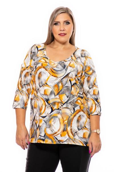 bluza xxl, bluze xxl, bluze de bumbac, marimi xxl, marimi xxl femei, moda xxl, haine xxl, marimi mari femei