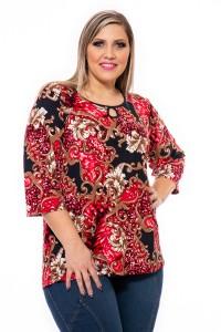 Bluza Krisztiana model imprimeu