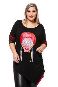 Bluza Krisztina model bumbac