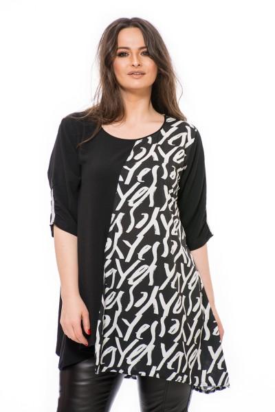 bluza dama eleganta, bluze XXL, bluza moderna
